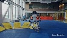 Vídeo mostra robô da Boston Dynamics dando mortal para trás
