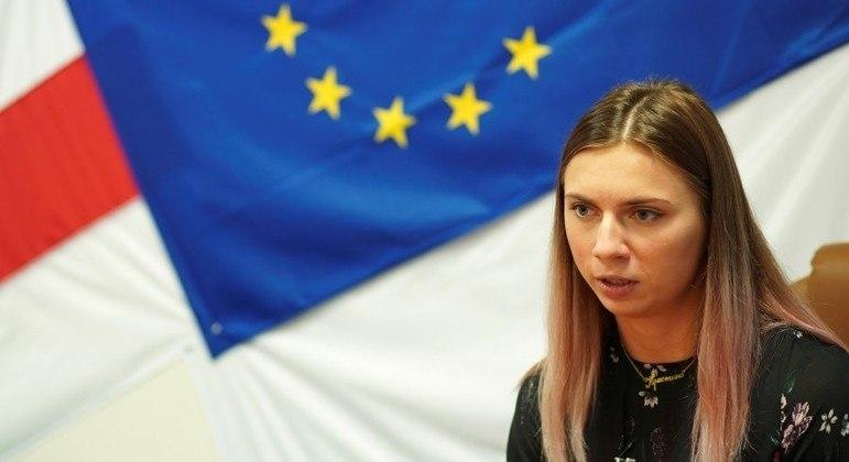 Ligação de avó foi decisiva para tomada de decisão de Krystsina Tsimanouskaya