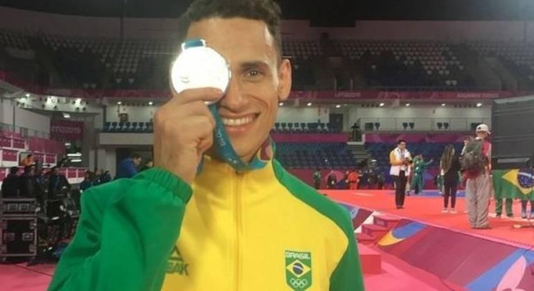 Aos 26 anos, Ícaro Miguel é uma das esperanças do Brasil na Olímpiada