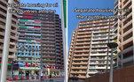 O alojamento é separado por times e países, enfeitados com as bandeiras de cada um na parte externa do prédio. São 21 torres com 3.600 quartosLeia mais:Trança é destaque nos penteados das atletas de Tóquio, inspire-se