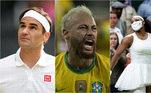 OsJogos Olímpicos Tóquio 2020estão cada vez mais perto, e apesar da chuva de grandes estrelas do esporte mundial na competição, a Olimpíada terá também algumas ausências de peso, como Roger Federer, Neymar e Serena Williams. No entanto, os três não são os únicos a ficar de fora da festa. Confira atletas que não estarão no Japão para a disputa de um lugar no pódio