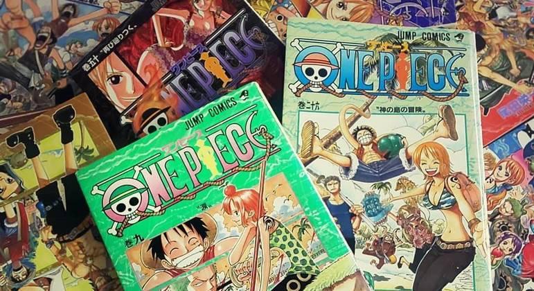 Atletas olímpicos são fãs de mangás como One Piece, que já vendeu mais de 480 milhões de cópias