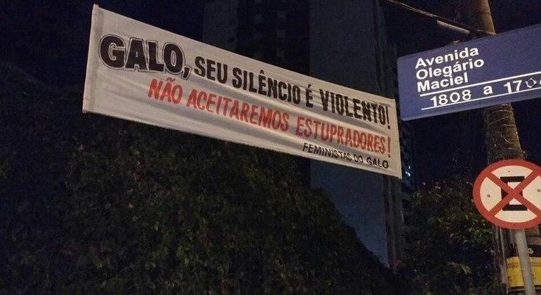 Em 2017, por condenação por estupro coletivo, Robinho não ficou no Atlético Mineiro