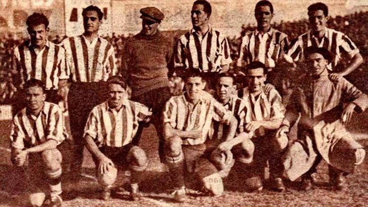 Atlético de Bilbao - Tradicional equipe basca, se consagrou como campeã invicta do Campeonato Espanhol na temporada 1929/30