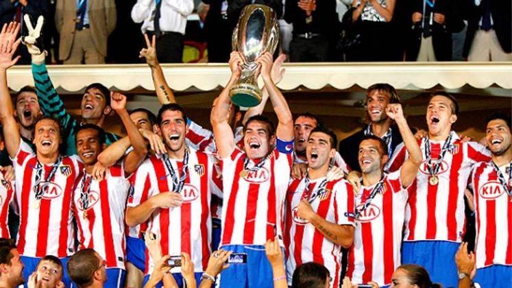 Atlético de Madrid (9 títulos) - O Atlético de Madrid ganhou 9 troféus. Foram 3 Ligas Europa e 3 Supercopas da Europa. Além disso ganhou o Campeonato Espanhol, a Copa do Rei e a Supercopa da Espanha em uma ocasião.