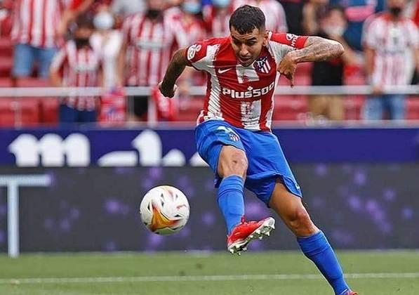 Atlético de Madrid: Ángel Correa (26 anos) - Posição: atacante - Valor de mercado: 40 milhões de euros