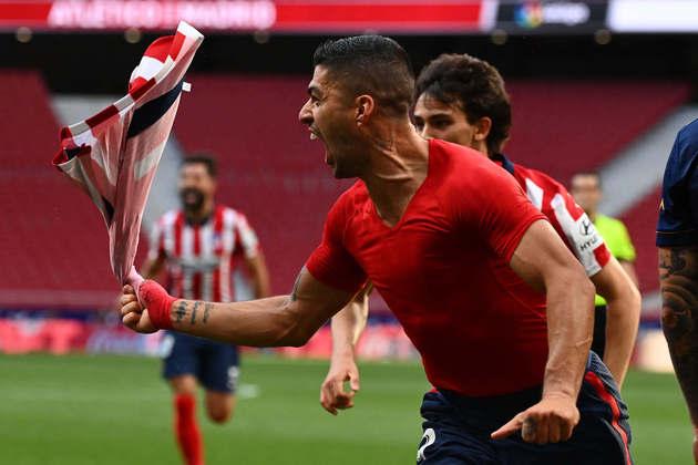 Atlético de Madrid: Carrasco, Angel Correa e Luis Suárez