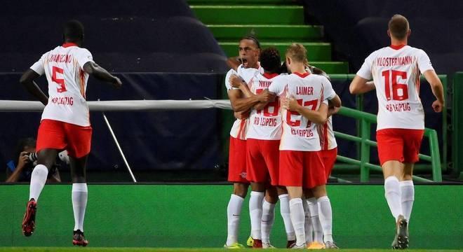 Red Bull Leipzig já fez história na Champions com vitória sobre Atlético de Madri