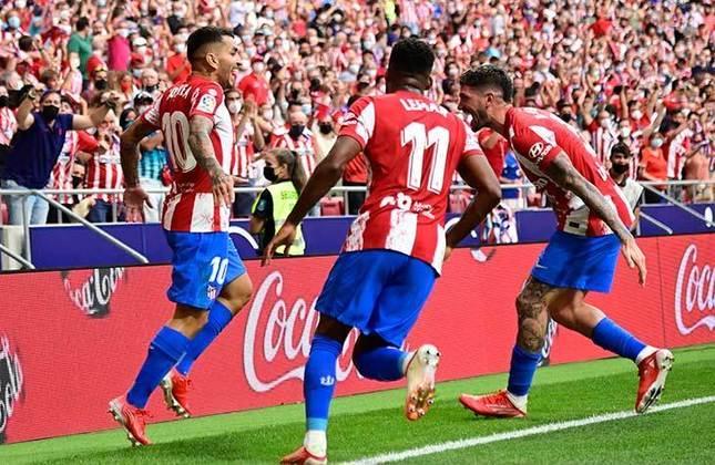 Atlético de Madrid (ESP) - 115.000 - campeão espanhol 2020/2021