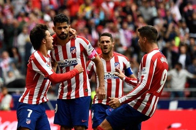 Atlético de Madrid - Oblak, Trippier, Savic, Felipe, Renan Lodi; Koke, Thomas Partney, Saúl;  João Félix, Morata e Diego Costa. Técnico: Diego Simeone.