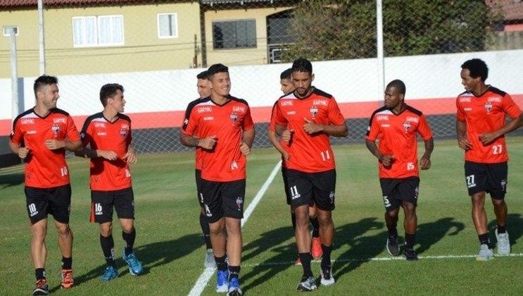 Atlético-GO - Atualmente na Série A, o Dragão foi rebaixado para a segunda divisão em duas temporadas: 2012 e 2017.