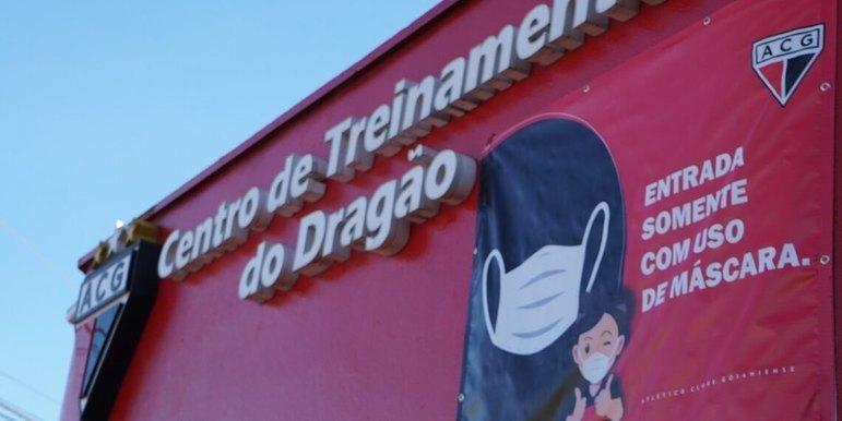 Atlético- GO - CT do Dragão: O local de treinamentos do Rubro-Negro goiano é uma lembrança ao apelido popular do clube