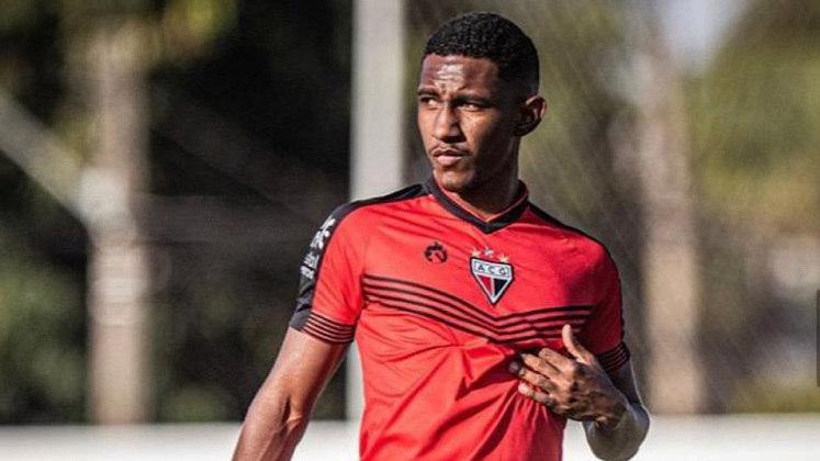 Atlético Goianiense: Márcio; Gilson, Anderson, Thiago Feltri e Ernandes; Adriano, Bida, Pituca e Juninho; Anselmo e Marcão.