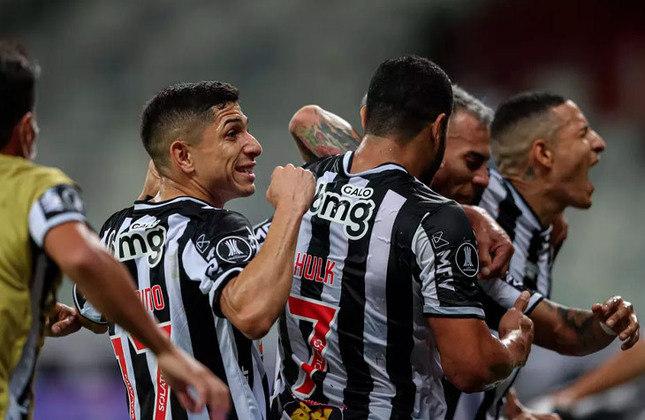 Atlético-MG (Brasil) - Valor do elenco: 98,45 milhões de euros (R$610,22 milhões) - Número de jogadores: 29