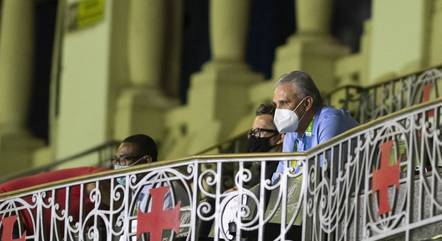 Tite esteve  em São Januário para acompanhar o jogo