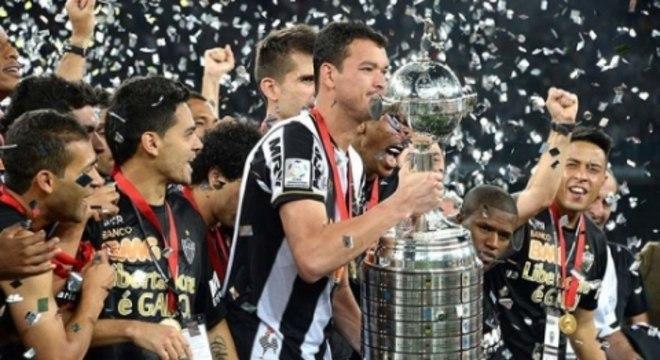 Galo conquistou o topo da América do Sul em 2013