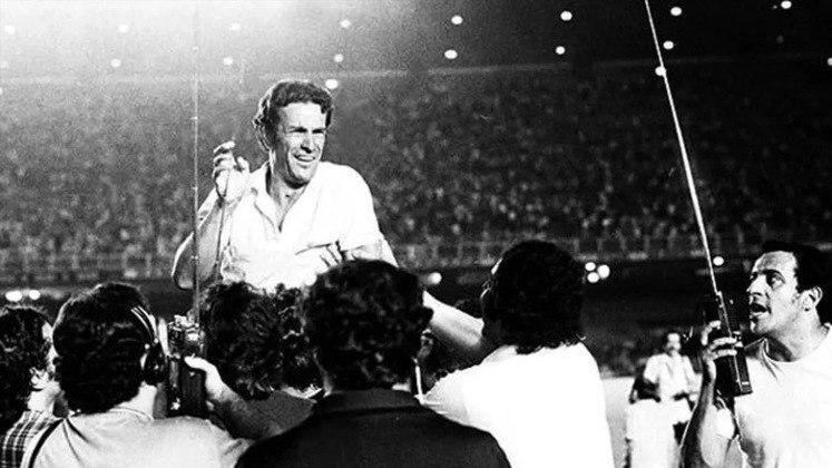 Atlético-MG: Telê Santana – O icônico treinador do futebol brasileiro comandou o Galo de 1970 a 1976, o que resultou em 434 jogos.
