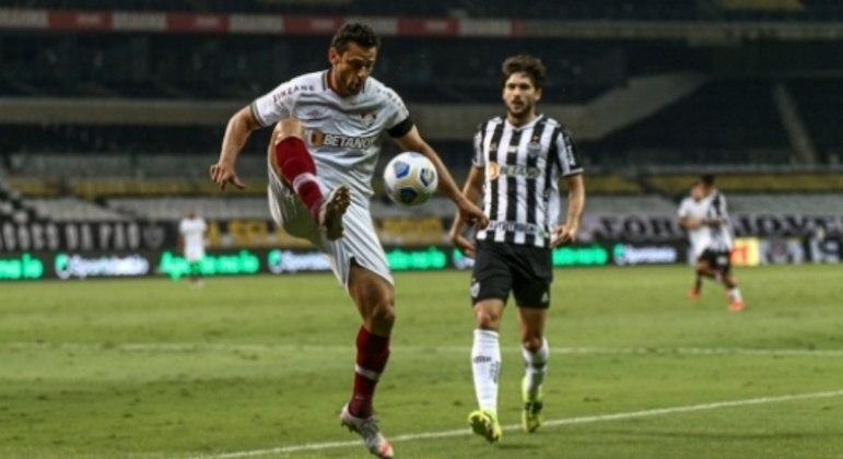Atlético-MG x Fluminense - Fred