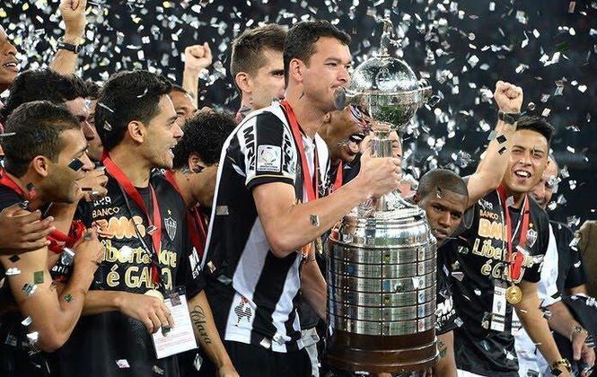 Atlético-MG x Olimpia  final da Libertadores-2013 (domingo, 16h Tv Globo Minas) - Os mineiros poderão relembrar como foi o título histórico do Galo de Ronaldinho & Cia.