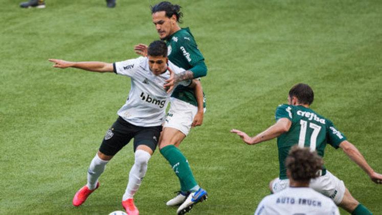 Atlético-MG x Palmeiras - 38ª rodada - Data a definir - Mineirão
