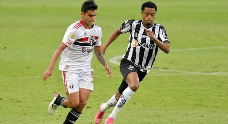 Atlético Mineiro e São Paulo se enfrentaram neste domingo (13) no Mineirão, em BH