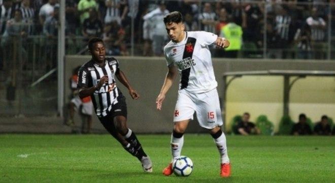 Atlético-MG x Vasco brigaram até o último lance no Independência