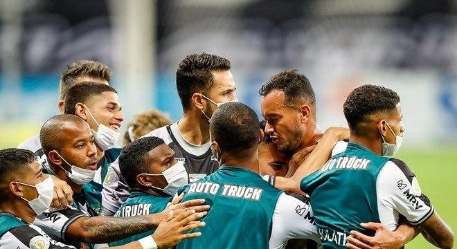 O primeiro gol do Atlético Mineiro deu a falsa impressão de uma fácil vitória