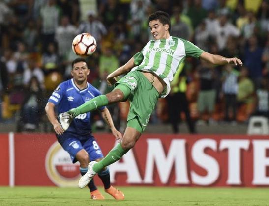 Atlético Nacional: 2ª melhor pontuação na Colômbia em 2020 - Entra na segunda fase do torneio.