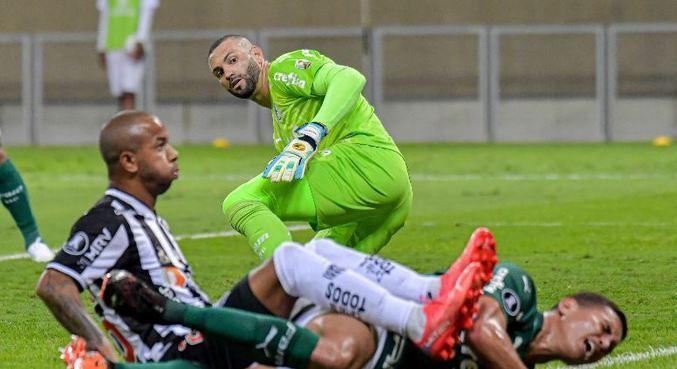 Atlético-MG e Palmeiras se enfrentaram nesta terça-feira