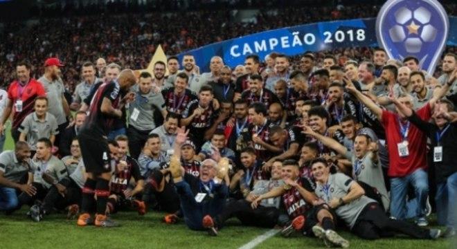 Athletico faturou a Sul-Americana