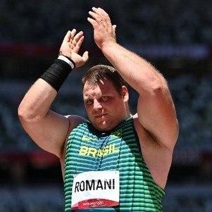 Darlan Romani ficou em quarto lugar na final do arremesso de peso
