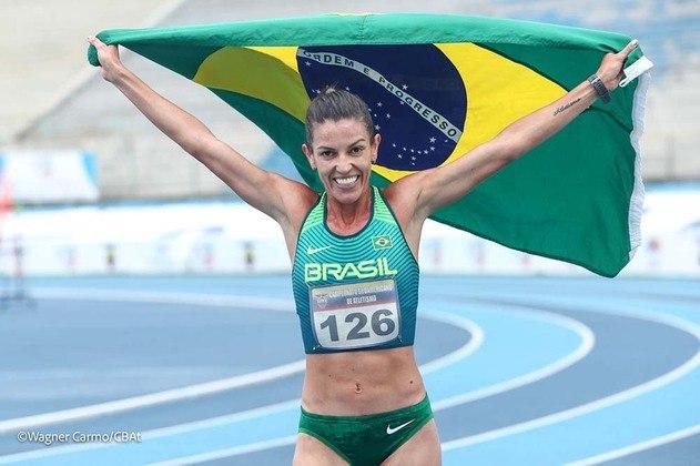 Atletismo: Simone Ferraz (foto) e Tatiane Raquel participam das eliminatórias dos 3000 metros com barreiras,  a partir das 21h40.