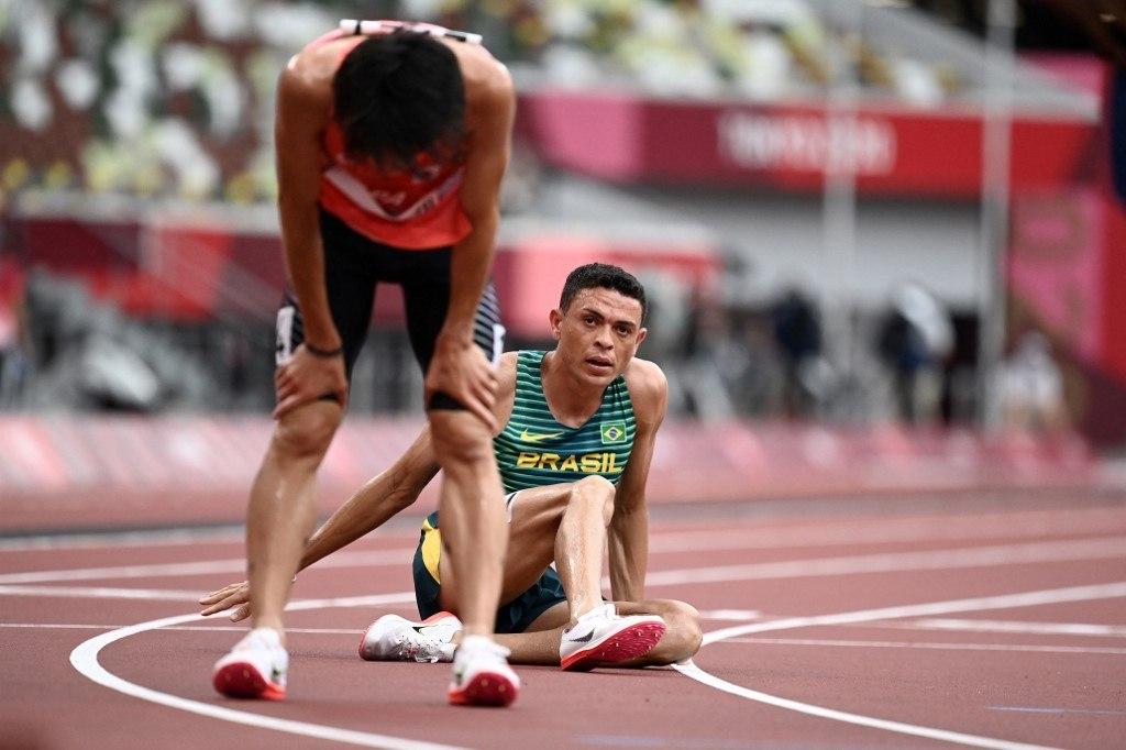 Altobeli Santos da Silva foi eliminado na prova dos 3.000m com obstáculos