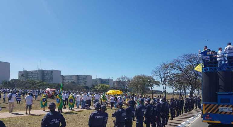 Policiamento da Esplanada será reforçado para o 7 de Setembro