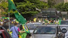 Grupo pró-Bolsonaro protesta contra Doria na avenida Paulista
