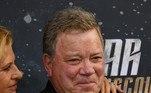 William Shatner, o ator que interpretou o capitão Kirk na série 'Star Trek'