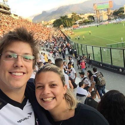 Ator e comediante, Fábio Porchat tem 5,8 milhões de seguidores em seu Instagram e é torcedor do Vasco.