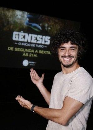 """Hugo Carvalho viveu """"Pelegue"""" na terceira fase de Gênesis"""