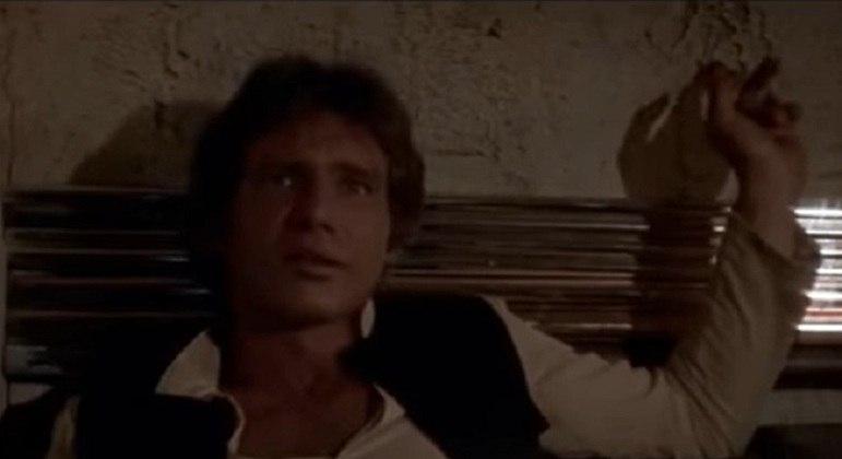 Ator que ficou com o papel e teve sucesso com seu desempenho no filme: Harrison Ford
