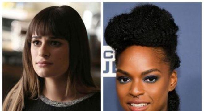Através do Twitter, Ware comentou uma declaração da atriz Lea Michele, 33, que foi protagonista na série, com o papel da jovem estudante Rachel Berry