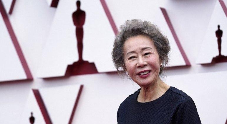 Yuh-jung Youn ganhou como atriz coadjuvante