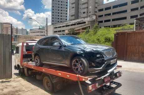Carro foi encontrado no bairro Buritis, em BH
