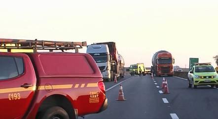 Jovem foi atropelado na rodovia BR-365