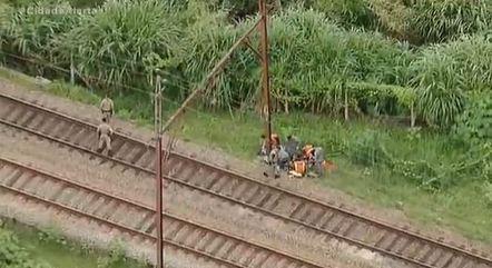 Atropelamento em via férrea da CPTM