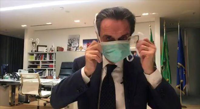 Governador da Lombardia, Attilio Fontana