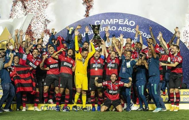 Atual campeão brasileiro, o Flamengo teve seu elenco