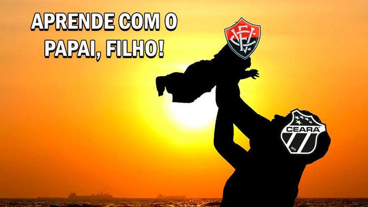 Atual campeão, Vozão venceu o Vitória por 2 a 0 e vai em busca do bicampeonato contra Bahia ou Fortaleza. Na web, torcedores enalteceram o atacante Vina e provocaram o rival baiano. Confira! (Por Humor Esportivo)