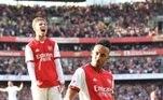 3º Pierre-Emerick Aubameyang - 35.5 km/h Atacante gabonês, 32anos - Arsenal