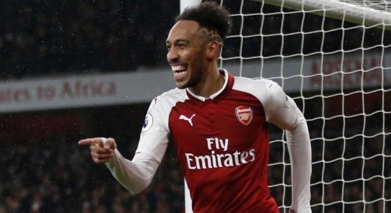 Aubameyang, do Arsenal