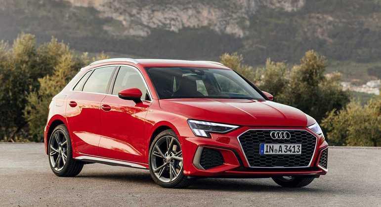 Modelo ganhou rodas Audi Sport de 18 polegadas